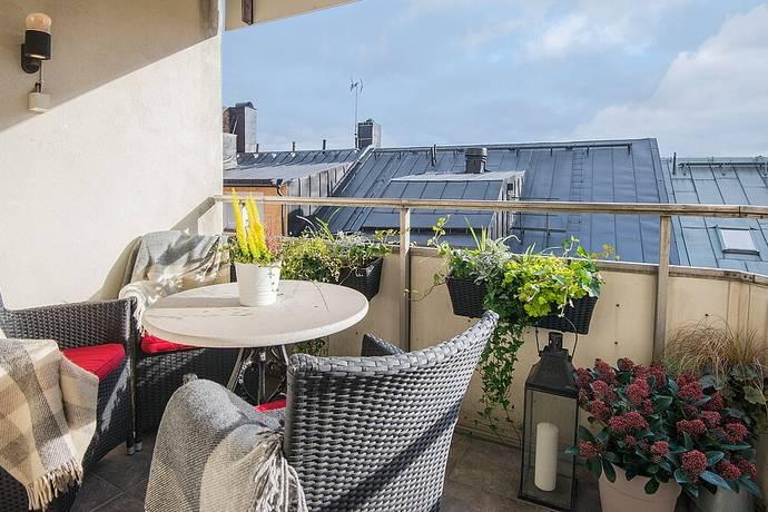 Bild: 4,5 rum bostadsrätt på Brännkyrkagatan 34B, 7tr, Stockholms kommun Södermalm
