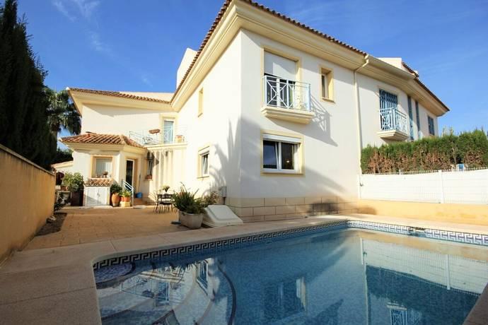 Bild: 4 rum villa på Fint radhus med privat pool, Spanien COSTA BLANCA - ALFAZ DEL PI