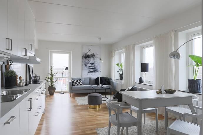 Bild: 2 rum bostadsrätt på Råbyvägen 39B, Uppsala kommun Norra Kvarngärdet