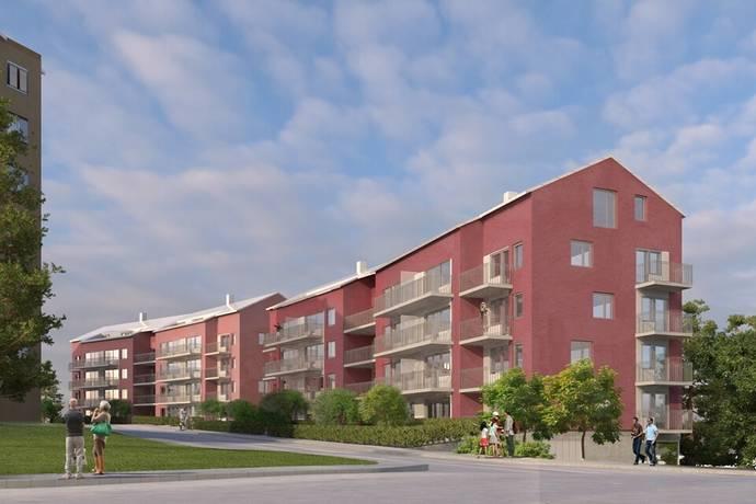 Bild: 3 rum bostadsrätt på Russinvägen 5, Stockholms kommun Farsta-Hökarängen