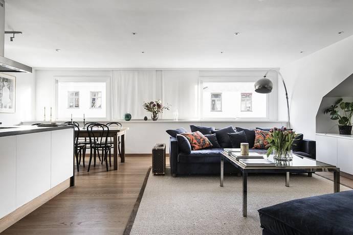 Bild: 3 rum bostadsrätt på Grevgatan 57, Stockholms kommun Östermalm