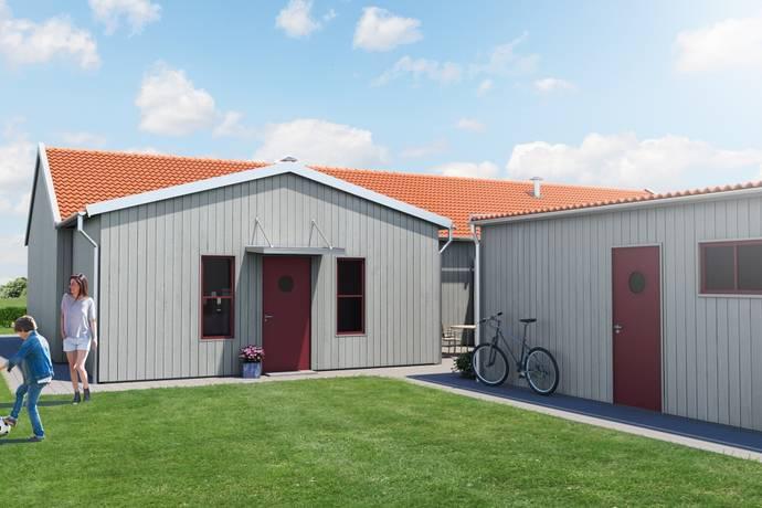 Bild: 3 rum radhus på Vitsippsgatan 51, Mullsjö kommun Havstenshult- Mullsjö