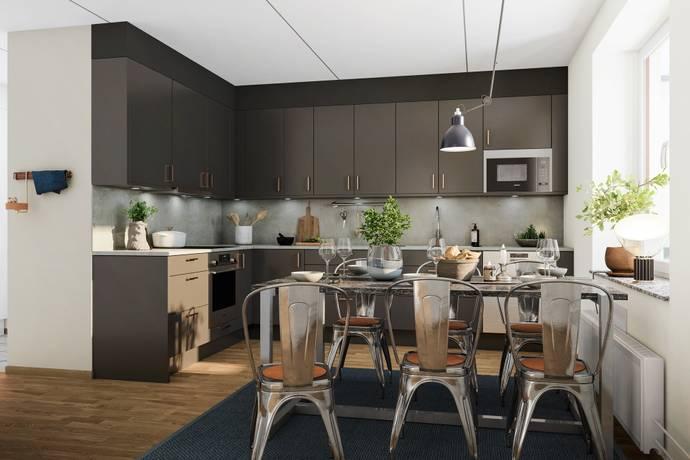Bild: 2 rum bostadsrätt på Vetenskapsvägen, Sollentuna kommun Silverdal