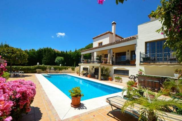 Bild: 6 rum villa på MIJAS-Stor villa med panoramautsikt, Spanien Mijas