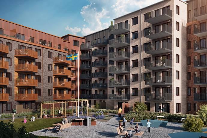 Bild: 1 rum bostadsrätt på Kungsängsesplanaden 12D, Uppsala kommun Kungsängen