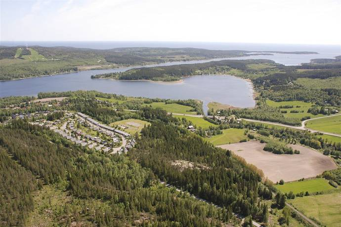 Bild: tomt på Strandängsvägen 7, Härnösands kommun Lövudden