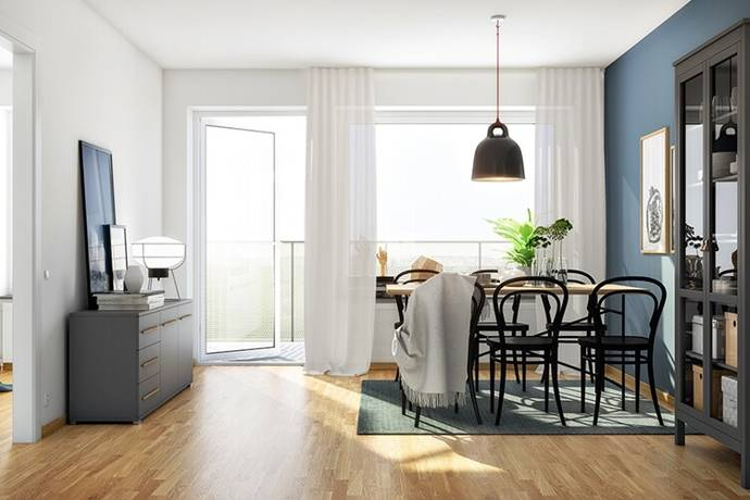 Bild: 1 rum bostadsrätt på Gamla Kronvägen, Partille kommun Partille Port