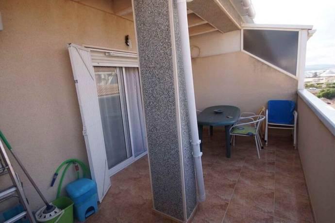 Bild: 3 rum bostadsrätt på Nära Marinan, Spanien Takvåning med stor terrass