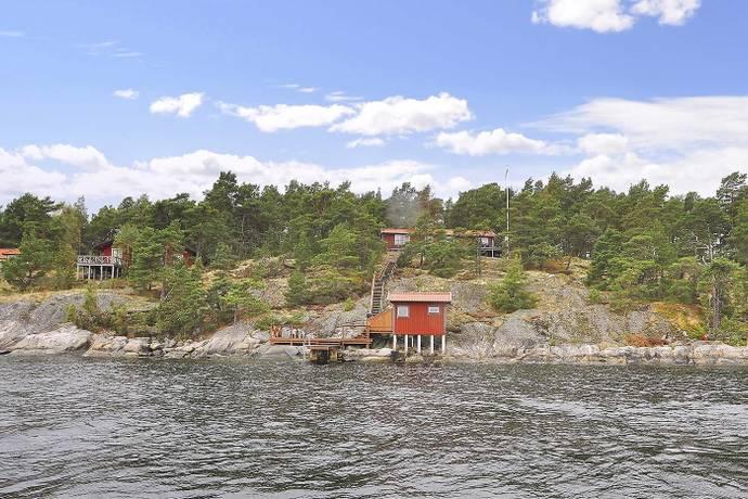 Bild: 4 rum fritidshus på Smådalarö/ Kalvholmen/Gränö, Haninge kommun Kalvholmen