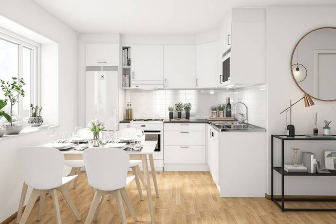 Bild: 2 rum bostadsrätt på Småbrukets Backe 16, vån 6, Huddinge kommun Visättra