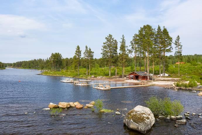 Bild: tomt på Sjögårdarna 24, Leksands kommun