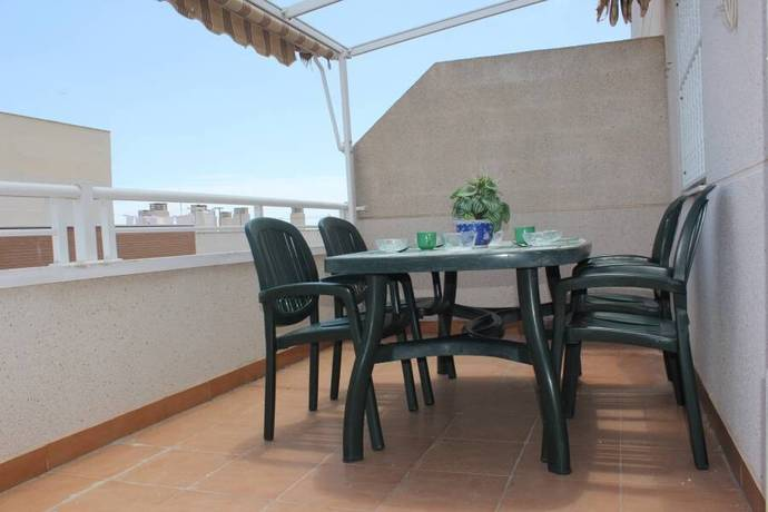 Bild: 3 rum bostadsrätt på Garage / Pool / Stor balkong, Spanien Central Takvåning