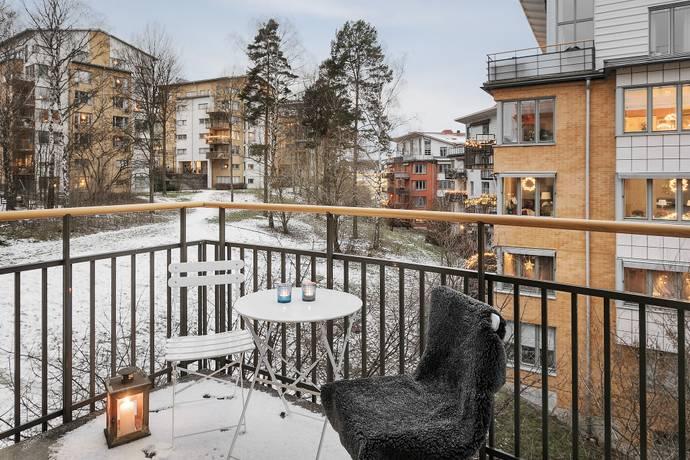 Bild: 1 rum bostadsrätt på Anders Lundströms gata 9, Solna kommun Frösunda