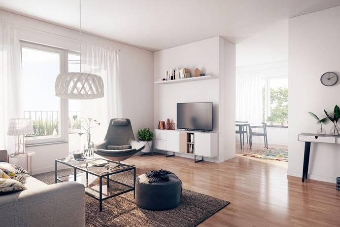 Bild: 2 rum bostadsrätt på Termikgatan 49 C, Örebro kommun Södra Ladugårdsängen