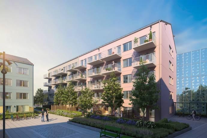 Bild: 2 rum bostadsrätt på Kongahällagatan, Kungälvs kommun Nya Resecentrum