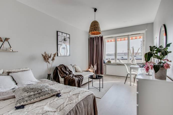 Bild: 1 rum bostadsrätt på Jungfrugatan 64, 5 av 5 tr, Stockholms kommun Nedre Gärdet
