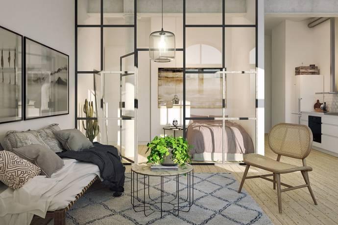 Bild: 1,5 rum bostadsrätt på SKOFABRIKEN: Zenitgatan/Industrigatan, Malmö kommun Södra Innerstaden